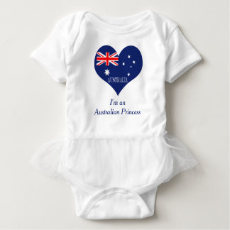 Flag of Australia Baby Bodysuit