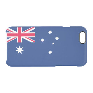Flag of Australia Clear iPhone Case