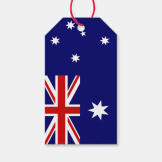 Flag of Australia Gift Tags