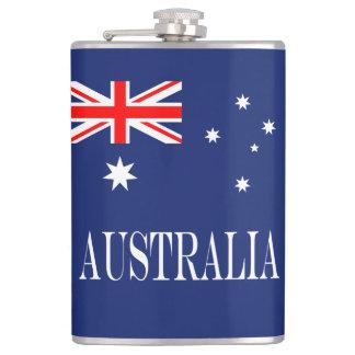 Flag of Australia Hip Flask