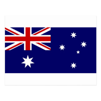 Flag of Australia Postcard