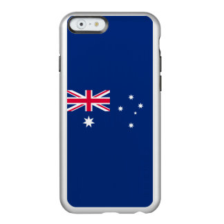 Flag of Australia Silver iPhone Case Incipio Feather® Shine iPhone 6 Case