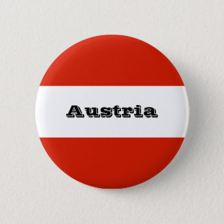 Flag of Austria 2 Inch Round Button