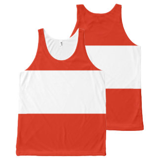 Flag of Austria All-Over-Print Tank Top