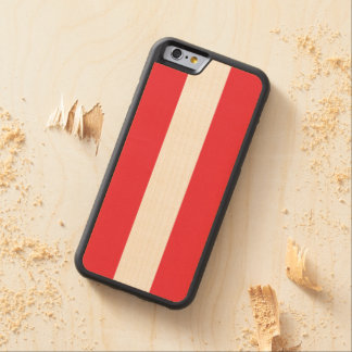 Flag of Austria / Austrian flag Carved Maple iPhone 6 Bumper Case