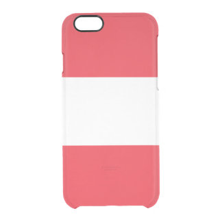 Flag of Austria Clear iPhone Case