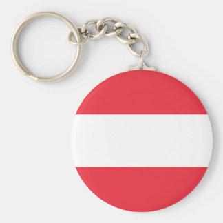 Flag of Austria Keychain