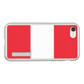 Flag of Austria Silver iPhone Case