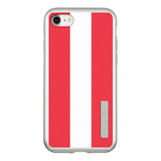 Flag of Austria Silver iPhone Case