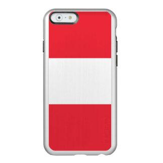 Flag of Austria Silver iPhone Case Incipio Feather® Shine iPhone 6 Case