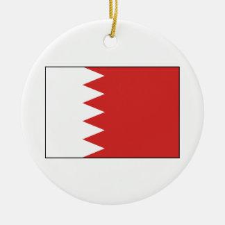Flag of Bahrain Ceramic Ornament