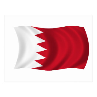 Flag of Bahrain Postcard