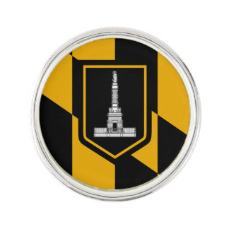 Flag of Baltimore, Maryland Lapel Pin