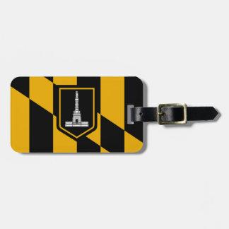 Flag of Baltimore, Maryland Luggage Tag