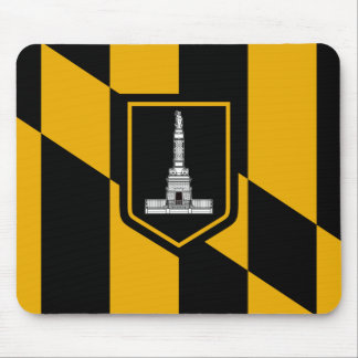 Flag of Baltimore, Maryland Mouse Pad