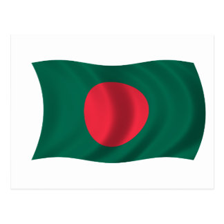 Flag of Bangladesh Postcard