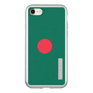 Flag of Bangladesh Silver iPhone Case
