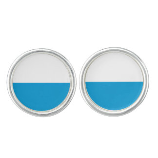 Flag of Bavaria Cuff Links