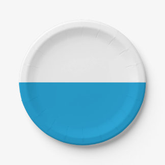 Flag of Bavaria Paper Plate