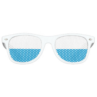 Flag of Bavaria Retro Sunglasses