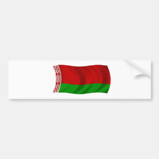 Flag of Belarus Bumper Sticker