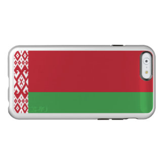 Flag of Belarus Silver iPhone Case Incipio Feather® Shine iPhone 6 Case