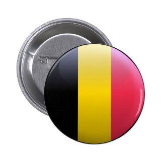 Flag of Belgium 2 Inch Round Button