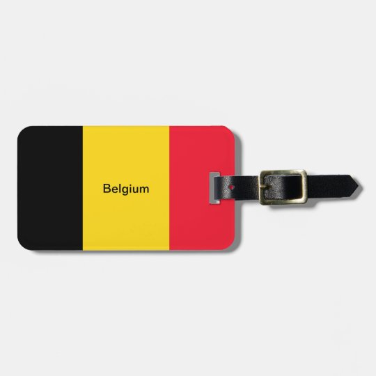 Flag of Belgium Bag Tag