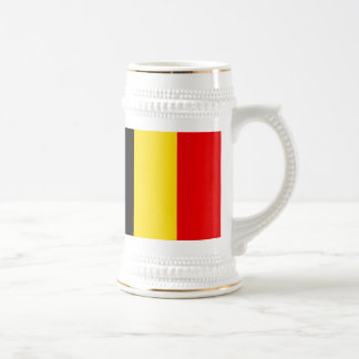 Flag of Belgium Beer Stein