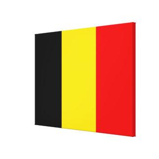 Flag of Belgium Canvas Print