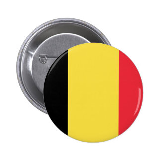 Flag_of_Belgium_(civil) 2 Inch Round Button