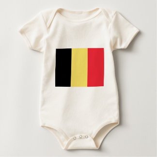 Flag_of_Belgium_(civil) Baby Bodysuit