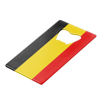 Flag of Belgium Credit Card Bottle Opener