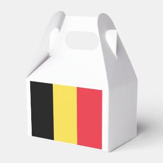 Flag of Belgium Favor Box