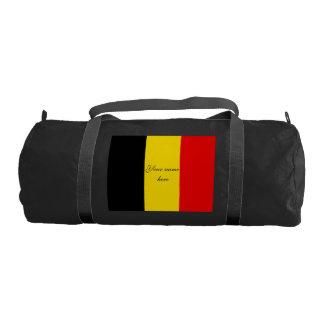 Flag of Belgium Gym Bag