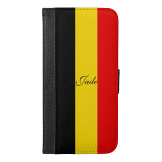 Flag of Belgium iPhone 6/6s Plus Wallet Case