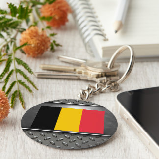 Flag of Belgium Keychain