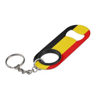 Flag of Belgium Keychain Bottle Opener