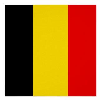 Flag of Belgium Poster