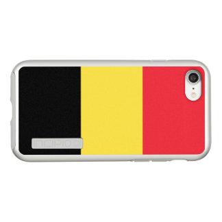 Flag of Belgium Silver iPhone Case