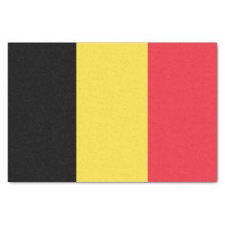 Flag of Belgium Tissue Paper