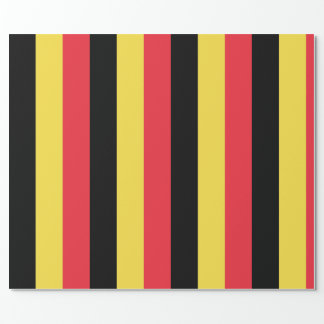 Flag of Belgium Wrapping Paper