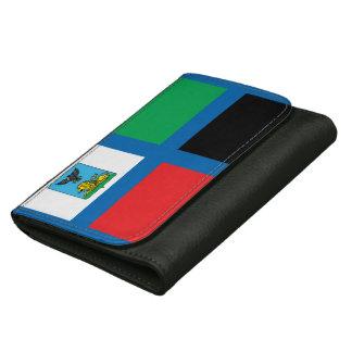Flag of Belgorod oblast Leather Wallet