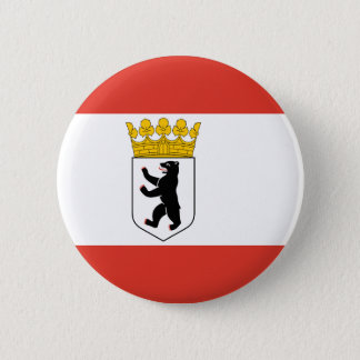 Flag of Berlin 2 Inch Round Button