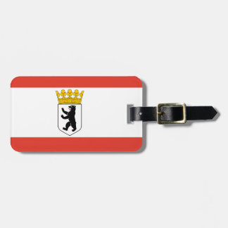 Flag of Berlin Luggage Tag