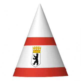 Flag of Berlin Party Hat