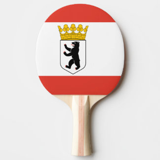 Flag of Berlin Ping Pong Paddle