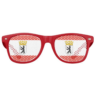 Flag of Berlin Retro Sunglasses