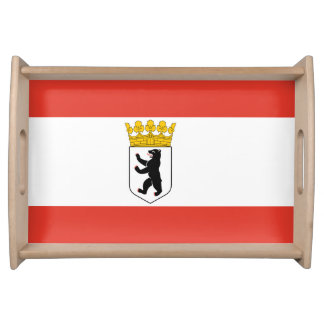 Flag of Berlin Serving Tray