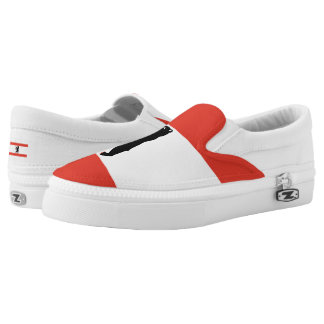 Flag of Berlin Slip-On Sneakers